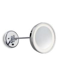 Specchio con luce, cromo - REFLEX