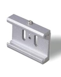 Accessorio di fissaggio diretto su controsoffitti grigio