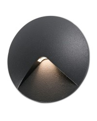 Lampada a incasso LED 70lm Faro UVE grigio scuro
