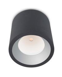Plafoniera LED 12W 3000K 1290lm Leds-C4 COSMOS grigio urbano