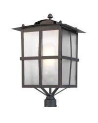 Lampada per lampione E27 Leds-C4 RUSTICA marrone ossido