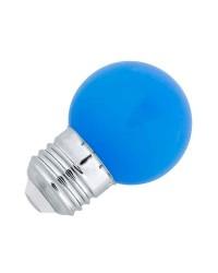 Lampadina LED Faro G45 LED E27 1W Blu