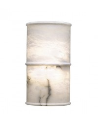 Lampada applique ALABASTER 2 x E14 MAX 60W bianco alabastro Leds C4