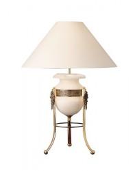 Lampada da tavolo ALABASTER 1 x E27 MAX 60W ,1 x E14 MAX 15 Leds C4