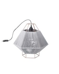 Lampada da tavolo LEGATO 1 x E27 MAX 60W  nero opaco Leds C4