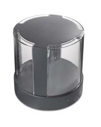 Lampioncino LED 17W 2022lm 3000K Leds-C4 COMPACT grigio scuro IP65 206mm