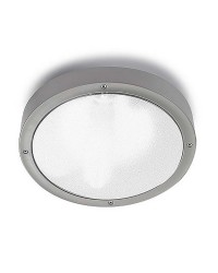 Plafoniera / Applique da esterno LED 14.5W 1340lm 3000K Leds-C4 BASIC grigio IP65