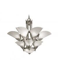 Lampada ALABASTER 6 x E27 60W ,9 x E14 60W  SATYL Leds C4