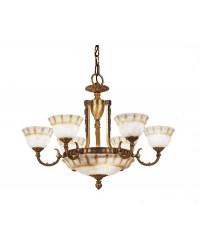 Lampada ALABASTER 6 x E27 60W ,3 x E14 60W  PATIN Leds C4