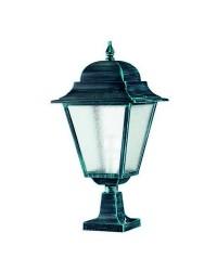 Lampada da esterno Christer ELITE 4 IP43 E27 Trasparente Nero