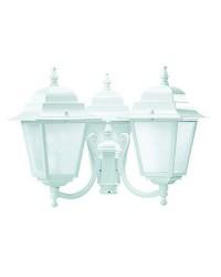 Boccia per Lampioni 3L. ELITE 4 IP43 E27 Trasparente Bianco