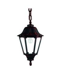 Lampada a sospensione da esterno INDURA BIG 6 IP55 E27 Nero