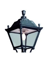 Boccia per Lampioni INDURA MEDIUM 4 IP55 GX53 Nero