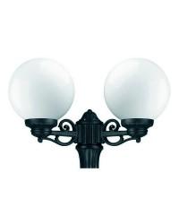 Boccia per Lampioni 2L. INDURA Boccia IP55 E27 Nero