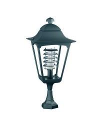 Lampioncino da giardino QUADRA IP44 E27 Antracite