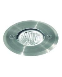 Lampada a incasso da esterno NUNA IP67 LED 10W 800lm 3K Inox