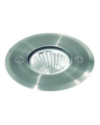 Lampada a incasso da esterno NUNA IP67 LED 10W 895lm 4K Inox