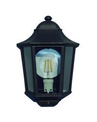 Lampada a sospensione da esterno TIAMIS IP44 E27 Nero