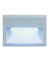 Lampade a incasso da esterno parete DALI IP66 LED 2,7W grigio.