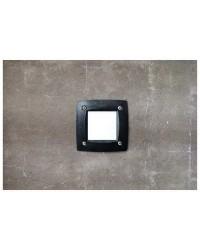 Lampade a incasso da esterno Quadrato parete DEVON GX53 Nero