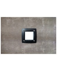 Lampade a incasso da esterno Quadrato parete DEVON GX53 grigio