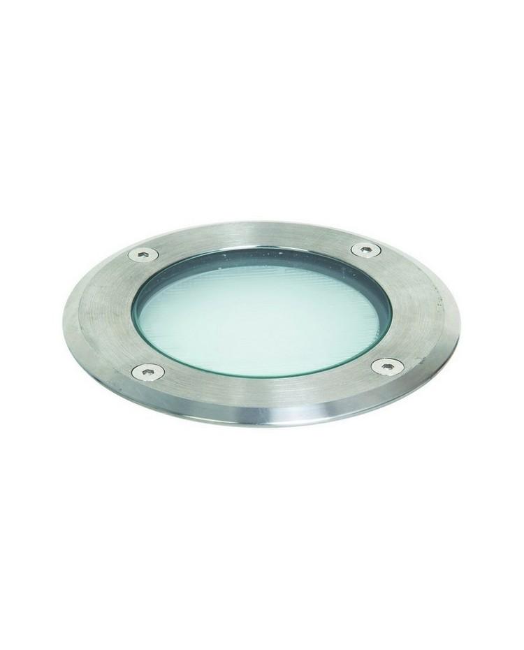 Lampade a incasso da esterno pavimento sio ip67 gx53 9w inox for Lampade da incasso