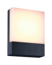 Applique da esterno CENADI IP54 LED 6W 520lm 3000K Antracite