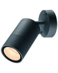 Proiettori da esterno ABADIA IP54 GU10 max35W Antracite