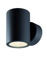 Applique da esterno BINDÓ RO. IP54 LED 12W 872lm 3K Antracite