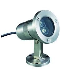Proiettori da esterno Sommergibile SEDNA IP68 12V LED3W 4mK Inox