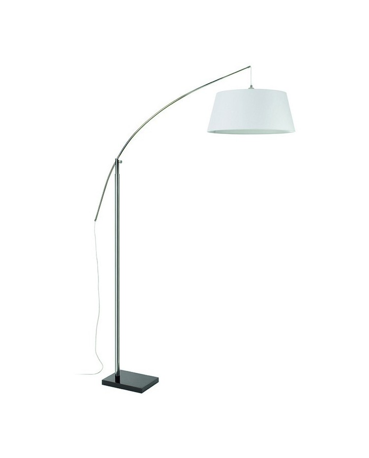 Lampada Piantana SPIN regulable E27 cromo