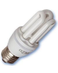 Scatola da 10 lampadine Mini a basso consumo E27 20W 2700K Luce calda