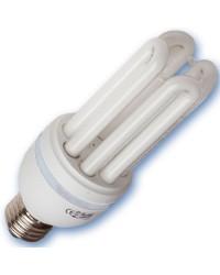 Scatola da 10 lampadine a basso consumo 28W E27 6400K Luce fredda