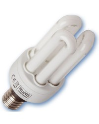 Scatola da 10 lampadine a basso consumo Micro 15W E14 2700K Luce calda