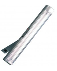 Luce di emergenza portatile ricaricabile con staffa di supporto e maniglia