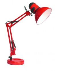 Lampada flessibile articolata color rosso - Bonny