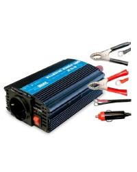Trasformatore / convertitore corrente auto da 12V a 220V 50 Hz. 300W.
