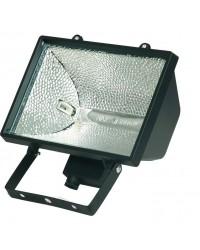 Faro alogeno orientabile 1000W 230V-IP44 uso esterno, color nero