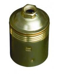 Portalampada metallico liscio E27 250V 4A