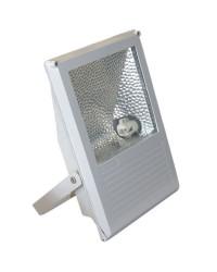 Proiettore alogenuro 70W con reattanza incorporata lampada R7s 230V IP65 uso esterno color grigio