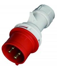 Spina 4P (3P + t) IP44, 380-415V - 16A