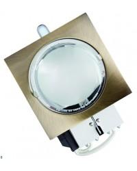 Mini-downlight da incasso a basso consumo 230V 2 E14 x 9W - Bronzo