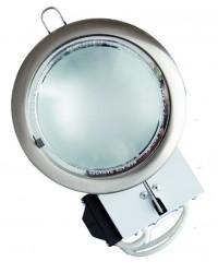 Mini-downlight da incasso tondo a basso consumo 2 E14 x 9W - Bronzo