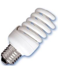 Scatola da 10 lampadine spirale a basso consumo 20W E27 2700K Luce calda