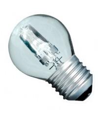 Scatola da 10 lampadine ECO alogena chiara a sfera  42W E27 (60W)