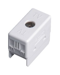 Presa TV singola 9,5mm per scatola esterna a tenuta stagna IP40 / IP55