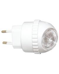 Luce da notte crepuscolare 1W 230V con sensore