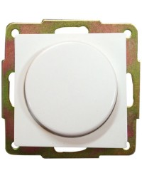 Regolatore dimmer di luce a incasso bianco, 56x56mm.10A, 250V.