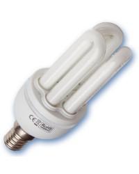 Scatola da 10 lampadine Mini a basso consumo E14 20W 2700K Luce calda