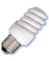 Scatola da 10 lampadine Micro spirale a basso consumo 15W E27 6400K Luce fredda
